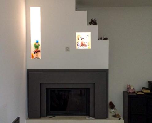 Realizzazione Caminetto moderno Zuin